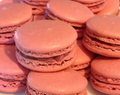 Raspberry Macarons for Hazel
