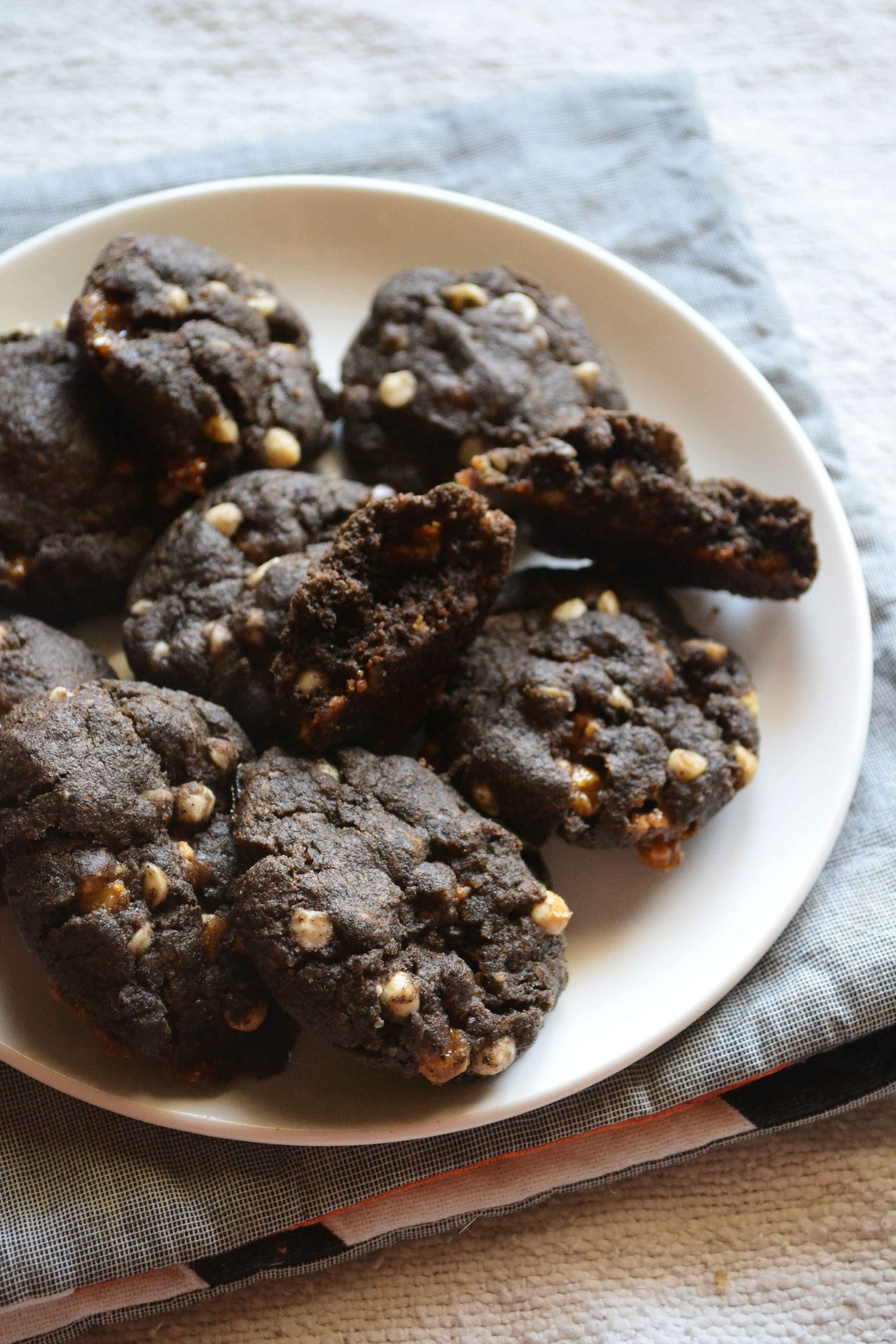 Egg Free Buckwheat Choco Chip Butterscotch Cookies – Easy Gluten Free Cookies