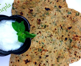 Methi na thepla recipe gujarati (Methi Roti) - How to make recipe of methi ke thepla at home