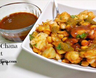 Aloo Chana Chaat Recipe