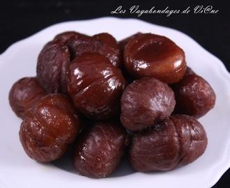 Recettes de comment rechauffer des marrons mytaste - Comment cuisiner des marrons en boite ...