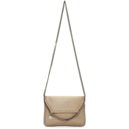 Stella McCartney Beige Mini Falabella Bag