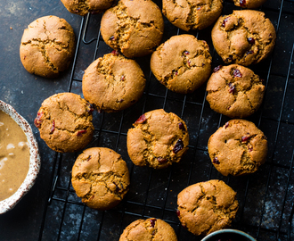 Cranberry Almond Paleo Cookies