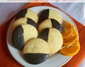 Chocolate Dipped Orange Cookies