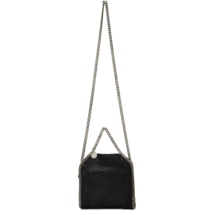 Stella McCartney Black Tiny Falabella Bag