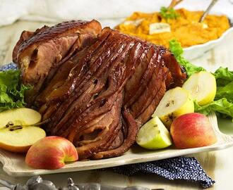 Bourbon Honey Baked Ham