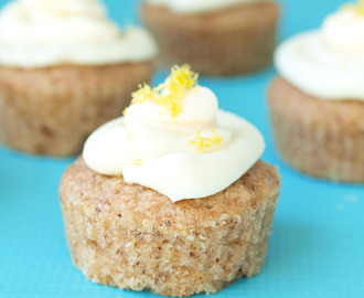 Vegan Lemon Cupcakes with Vegan Lemon Buttercream Frosting