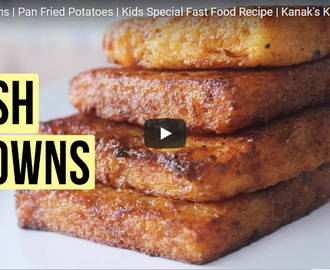 Hash Browns Recipe Video
