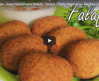 Falafel Recipe Video