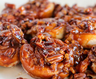 Easy 30 Minute Caramel Pecan Sticky Buns Recipe
