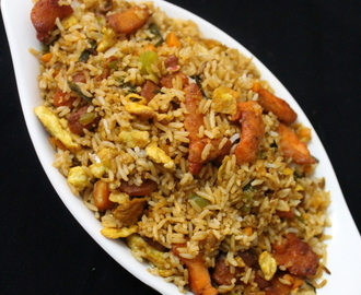 chicken fried rice recipe | chinese fried rice | how to make chicken fried rice