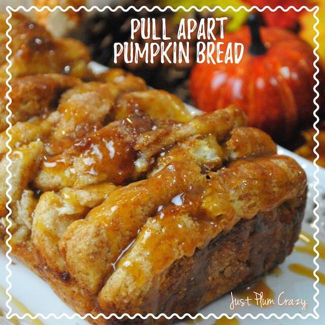 #12Daysof Thanksgiving #Recipes {Day 4} Pull Apart Pumpkin Bread
