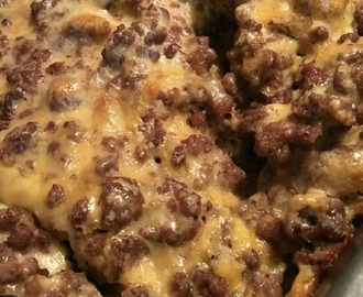 Low Carb Cheeseburger Casserole  #Recipe