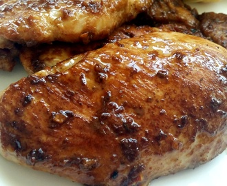 Asian Marinade Chicken Steak