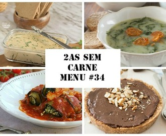 2as sem carne menu #34