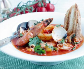 Simple Seafood Bouillabaisse