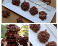 No-Bake Nutty chocolate, peanut butter & oatmeal Cookies Recipe