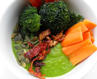 GREEN SMOOTHIE LUNCH BOWL