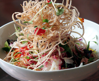 Singaporean Slaw Salad & Salted Apricot Dressing