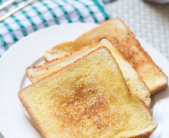 Sugar Bread Toast | Indian Bread Toast Recipes