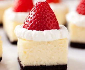 Santa Hats Cheesecake Bites From Cooking Classy  Ingredients  18...