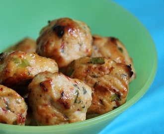 Bake Along #24 - Baked Thai Chicken Meatballs