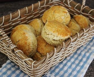 Traditional Buttermilk Scones.