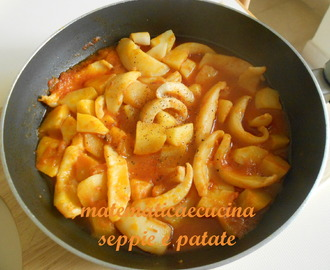 Seppie e Patate in Umido