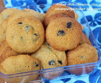 Malted Milk Chocolate Chip Cookie (Prefer Chewy or Crispy?)