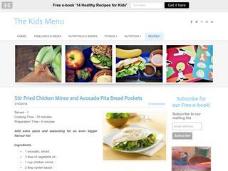 The Kids Menu Recipes