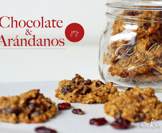 Galletas Chocolate & Arándanos