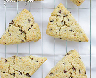 Mini Chocolate Chip Scones (gluten-free)