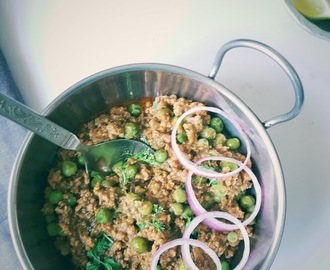 Keema matar| Mutton mince and green peas