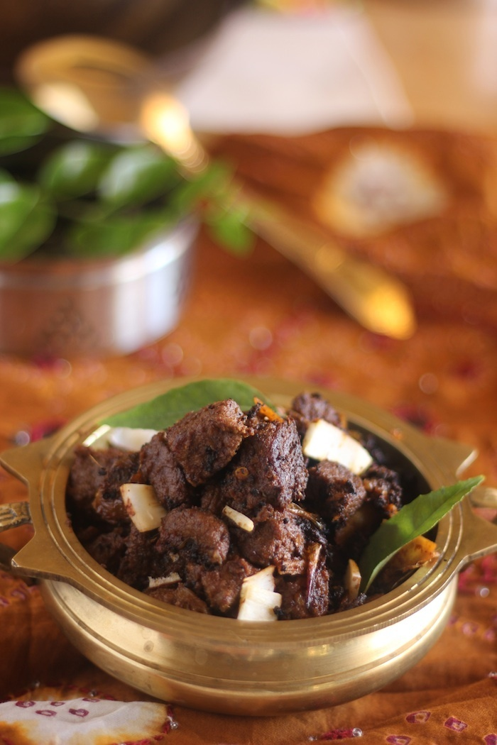 Beef Fry, Spiced and Done the Kerala Way