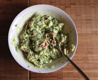 avocado goes for dressing…