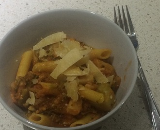 Bacon and fennel pasta sauce
