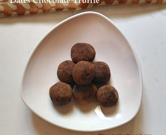Dates Chocolate Truffle