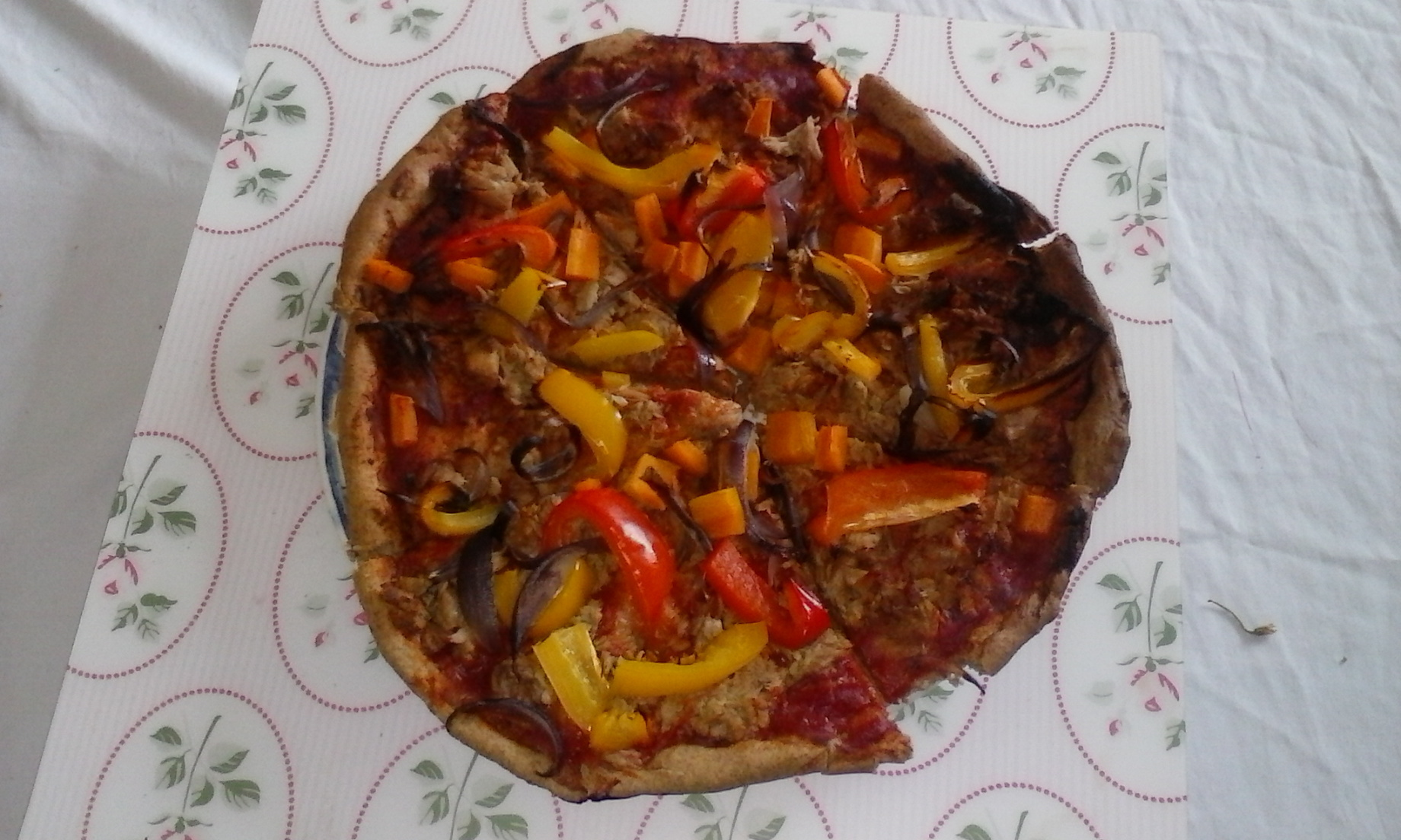 Guest Peachick Post! –  Dairy Free Pizza