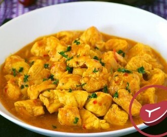 Receta de pollo al curry en 10 minutos