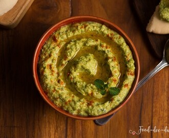 Green Pea & Mint Hummus