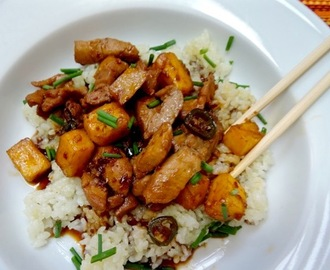 Hoisin-Marinated Pork and Pineapple Stir-Fry