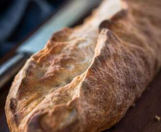 Garlic Batard – #BreadBakers