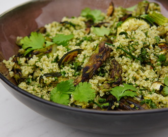 Mean Green Quinoa Salade