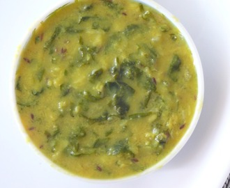 palak ki dal recipe /dal palak with moong dal
