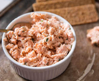 Rillettes de saumon facile au thermomix