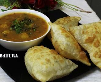 BATURA - EASY BHATURA RECIPE