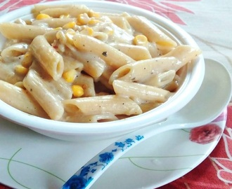 SWEET CORN AND CHEESE PASTA