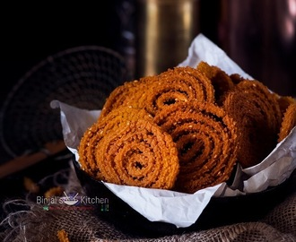 Moong Dal Chakli Recipe (Murukku)