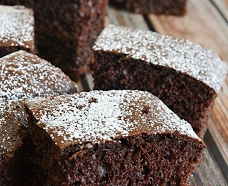 Triple Chocolate Snack Cake