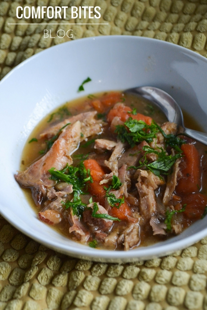 Rabbit Stew with Pancetta and Tarragon